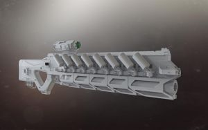 Experimental Plasma Rifle by Psycho4140