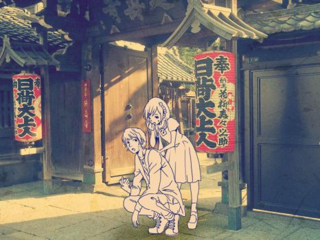 Lost at a shrine by Akari-Sweetness