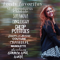 Fonts favoritas by voidxprescott