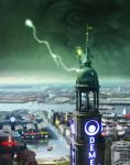 Shadowrun Hamburg Cover by raben-aas