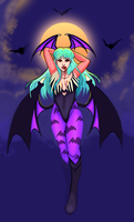 Lady of Bats by themandii