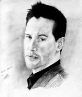 keanu Reeves by corruptedprince