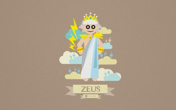 Greek Mythology Character Design - Zeus by totoproduction