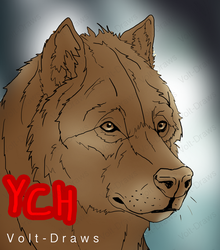 Wolf YCH Auction [Closed] by Volt-Draws