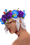 Flower Crown by MidnightZone