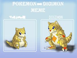 Digimon Sandshrew