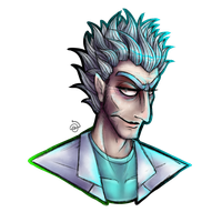 Rick Sanchez by cross-the-swirl
