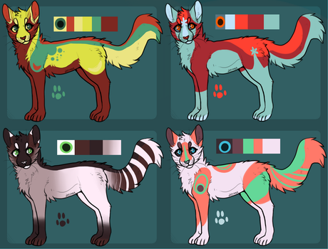 Cat adopts 1 {AUCTION} all gone by glasshyena
