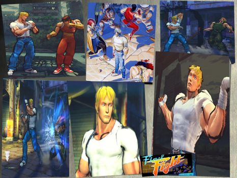 Cody Final Fight old costume by monkeygigabuster