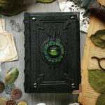The Alchemist's little green book! by MilleCuirs