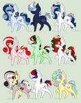 Pony Sheet #2-- Holiday Themed OPEN by TankySina