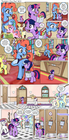 Comic - Twilight's First Day #23 by muffinshire