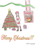 Merry Christmas to everyone by Lady-Catharina