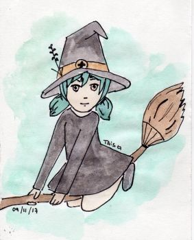Witch by LooneyDreamer
