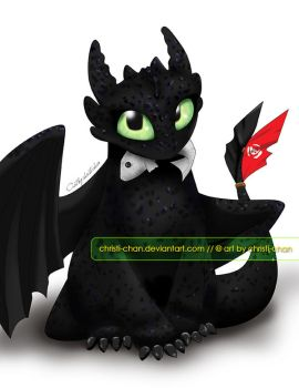 Toothless by christi-chan