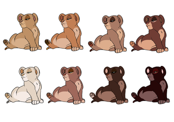 First batch: 8 cubs CLOSED by flamefeathertail