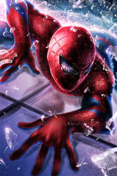 The Amazing Spider-Man by Aka-Shiro