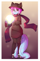 Izzy cosplaying as Niko from OneShot - Commission by t-Hoodie