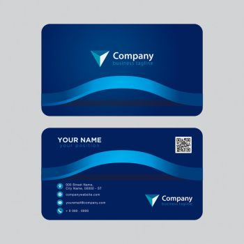 Modern Abstract Business Card for Multiple Purpose by coddih