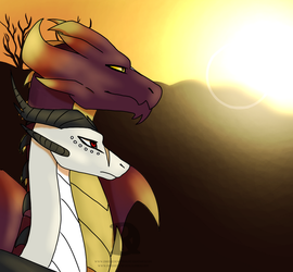 A King And His Willing General by DireRedemption