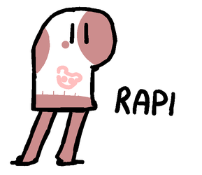 RAPI the Sock (Redraw) by IsonoLove