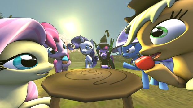 [SFM] A normal Picnic by BookerDawatt