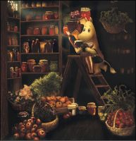 The Moominmamma's Pantry by barbarasobczynska