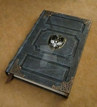 zelda dark link grimoire tome sketchbook journal by RaptorArts