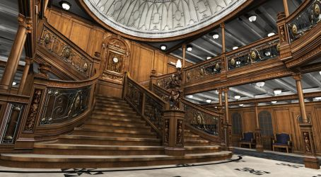 Titanic Grand Staircase VI by Hudizzle