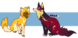 Flower Foxes for Sale by cheepers