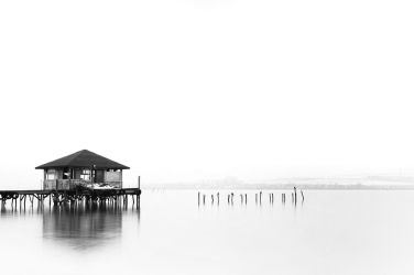 Lake - Black and White by ivo-mg