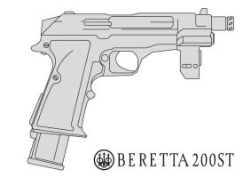 Beretta 200ST by fexes
