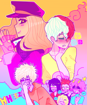 The Bakusquad and some Bakucamie by ThatNerdNamedLaura