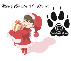 Merry Christmas! -Resani by CookieLoveXO