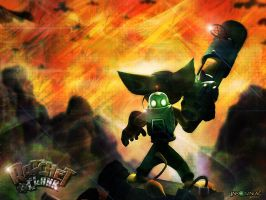 Ratchet and Clank by Wild-Espy