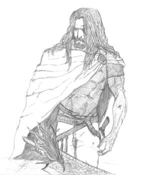 Hell Lord Corvus by altharest