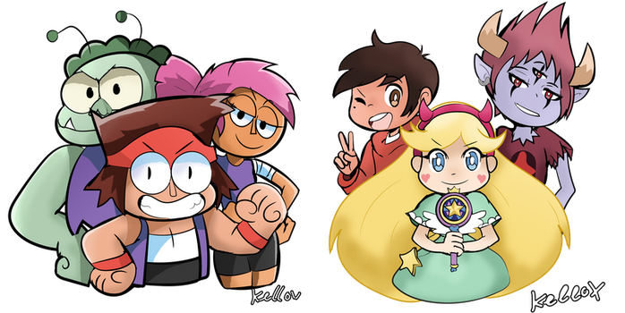 Cartoon Teams by Kell0x