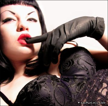 Rubber Glove by AsphyxiaRose