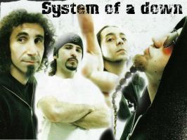 System of a down by XxRevengaxX