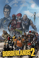 Borderlands 2 Poster by thinkpharther