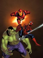 Spidey mag cover COLORS by Averno7