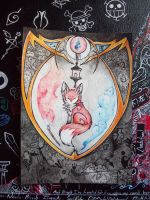 Fox Shield- Epic Doodle 3 by Penfell