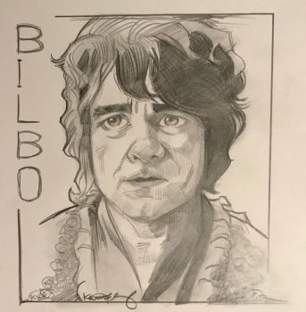 The Hobbit - Bilbo Baggins - Martin Freeman by kennf11