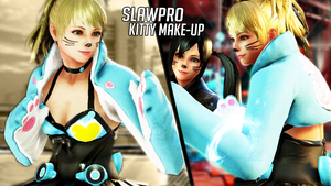 [TK7] Lucky Chloe's Kitty Make-Up by SlawPro