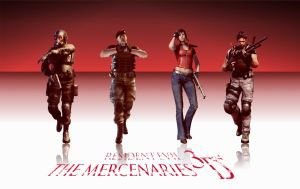 Resident Evil: The Mercenaries by ARTdEVIL-91