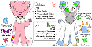 Dubstep and Heimo (REFERENCE SHEET 2018) by Jewfross