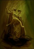 The Three Muses by acidlullaby
