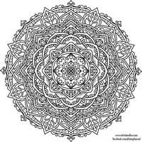 Krita Mandala 46 by WelshPixie