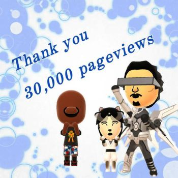 30,000 pageviews  by Cameronmao