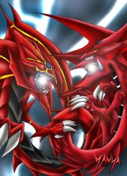 Yanya- Uria vs Slifer by yu-gi-ohartistsclub